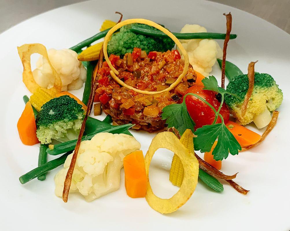 Restaurant Gut Mausbeck Gemüseteller