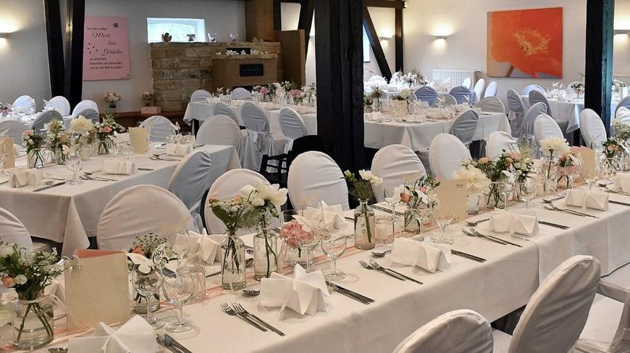 Hochzeit Festscheune Restaurant Gut Mausbeck Bochum